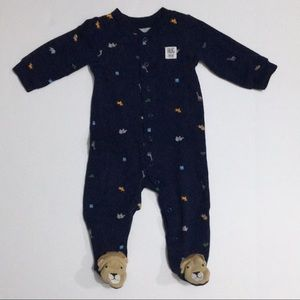 Carter's Safari Footy PJs